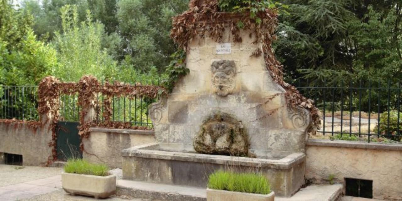 fontaine place de l'ancien lavoir